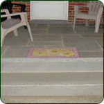 Flagstone Porch